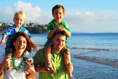 Families love the patrolled beach at Mona Vale, Sydney